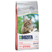 Bozita Large Wheat Free Salmon для Кошек Крупных пород, без Пшеницы с Лососем 400г