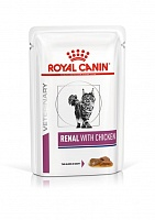 пауч Royal Canin RENAL с курицей