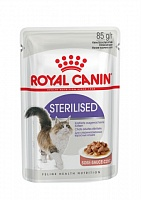Royal Canin пауч STERILISED соус