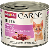 Animonda Carny Kitten 200г Baby-Pate паштет для Котят
