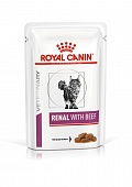 пауч Royal Canin RENAL с говядиной