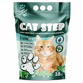 Cat Step Crystal Fresh Mint 3.8л Силикагель